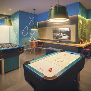 Salão de Jogos e Brinquedoteca